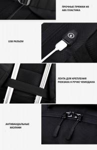 качественная фурнитура рюкзака ozuko 9200