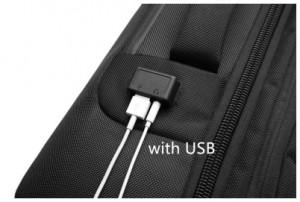 фото USB разъема рюкзака ozuko 9225