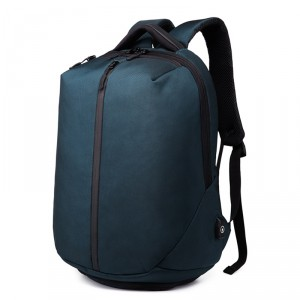 рюкзак ozuko 9080 синий вид сбоку