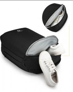 фото изолированный отсек для обуви рюкзак ozuko 9216