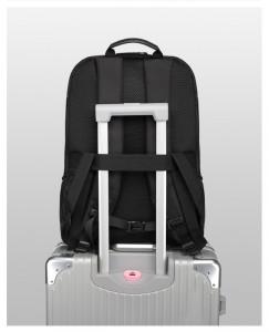 лента для крепления рюкзака ozuko 9243 к ручке чемодана