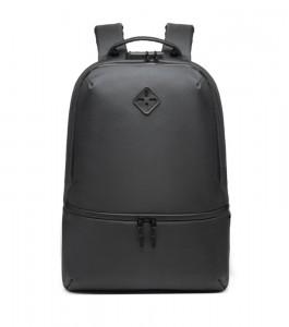 фото рюкзак ozuko 9243 серый вид спереди