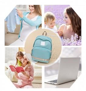 универсальный рюкзак для мамы и малыша BAORDAI IP177 голубой