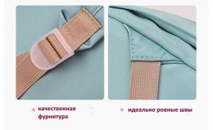 Рюкзак для мамы и малыша BAORDAI IP177 голубой детали фото3