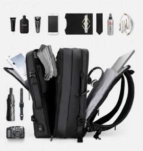 Рюкзак дорожный Mark Ryden MR8057 три отделения (для ноутбука 17, одежды, гаджетов и документов)