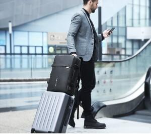 Рюкзак дорожный Mark Ryden MR8057 легко крепится на чемодан