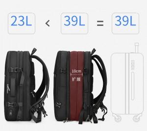 Рюкзак дорожный Mark Ryden MR8057 увеличивается в объеме на 10 см в ширине (до 16 литров)