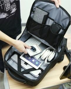Рюкзак дорожный Mark Ryden MR9031 черный 2 фото основного отделения