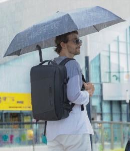 Рюкзак дорожный Mark Ryden MR9299 regular черный не промокает во время дождя