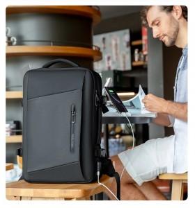 Рюкзак дорожный Mark Ryden MR9299 regular черный фото с моделью