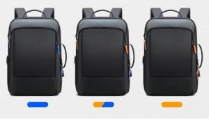 Рюкзак для ноутбука 15.6 BOPAI61-07311 черный c декоративными брелоками на замках