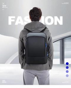 Рюкзак для ноутбука 15.6 BOPAI61-07311 черный одет на модели