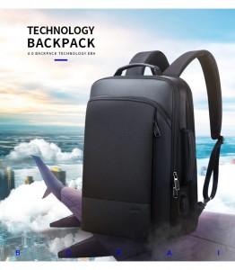 Рюкзак для ноутбука 15.6 BOPAI61-07311 черный - идеальный рюкзак для путешествующих