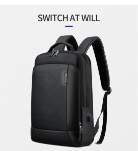 Мужской кожаный рюкзак BOPAI 851-036511