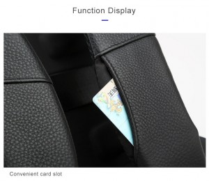 Рюкзак для ноутбука 15.6 Bopai 851-036511, карман для карт