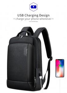 Рюкзак для ноутбука 15.6 Bopai 851-036511с  USB разъемом