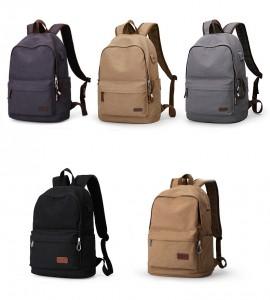 Холщовый рюкзак Muzee унисекс ME0710CD, ассортимент цветов и комплектаций