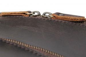 Сумка кожаная для ноутбука 17.3 J.M.D. 7289R-1Y  кожа Crazy Horse