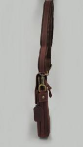 Мужская сумка планшет Crazy Horse J.M.D. 1006 бордо фото сбоку