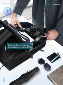 рюкзак для ноутбука 15.6 BOPAI61-26211 красивый дизайн, продуман до мелочей