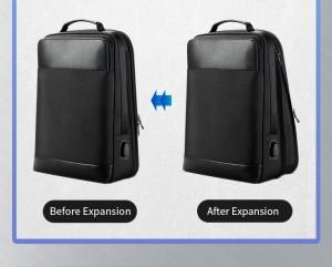рюкзак для ноутбука 15.6 BOPAI61-26211 увеличивается в глубину на 6 см
