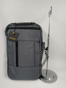 Бизнес рюкзак для мужчин OZUKO 9225 Бизнес рюкзак для мужчин OZUKO 9225 фото основного отделенияерый с металлическим тросиком и замком