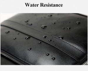Дорожный кожаный рюкзак BOPAI 851-019811 водоотталкивающий слой