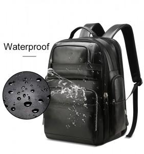Дорожный кожаный рюкзак BOPAI 851-019811 водоотталкивающая пропитка