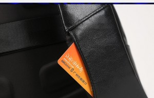 Дорожный кожаный рюкзак BOPAI 851-019811 слот для карт