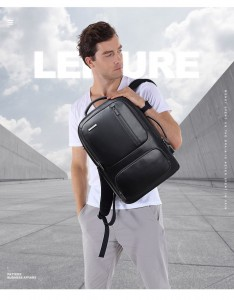Деловой  рюкзак BOPAI 851-024011 фото на модели