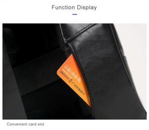 Деловой  рюкзак BOPAI 851-024011 фото кармашков для карт