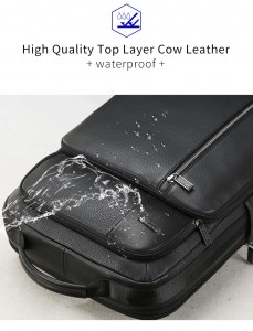 Деловой рюкзак для ноутбука 15.6 BOPAI 851-036611 водонепроницаемая пропитка
