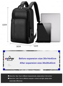 Кожаный рюкзак для ноутбука 15.6 BOPAI 851-036611 с характеристиками