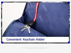 Таблица с характеристиками  Кожаный рюкзак для ноутбука 15.6 BOPAI 851-036611 брелок для ключей