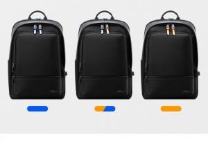 Бизнес рюкзак BOPAI 61-02111 с разноцветными брелками на замки