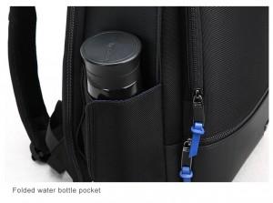 фото кармана для бутылки с водой рюкзак BOPAI 61-02111 черный
