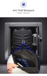 рюкзак BOPAI 61-02111 скрытый карман на спинке рюкзака