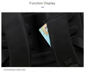 рюкзак BOPAI 61-02111 кармашек для карт в лямке рюкзака