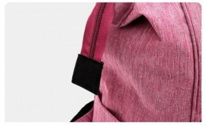 Рюкзак для мам LIVING TRAVELING SHARE CX9394 розовый надежные молнии