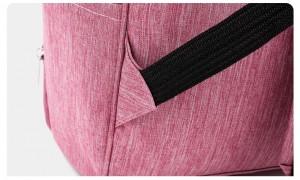 Рюкзак для мам LIVING TRAVELING SHARE CX9394 розовый лямки надежно пришиты