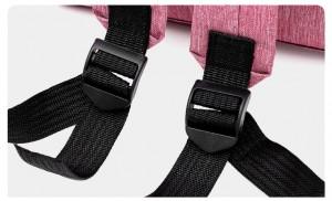 Рюкзак для мам LIVING TRAVELING SHARE CX9394 розовый ручки лямки фиксируются по длине