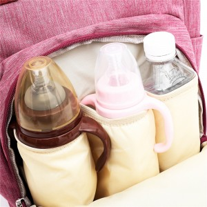 Рюкзак для мам LIVING TRAVELING SHARE CX9394 розовый карманы для бутылочек
