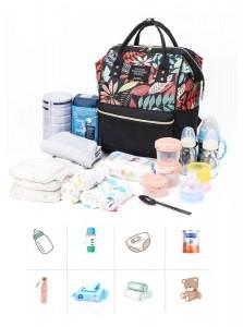 Рюкзак LIVING TRAVELING SHARE 989-9 фото вмещаемого объема вещей