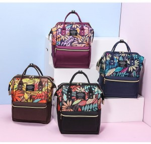 Рюкзак-сумка для мамы LIVING TRAVELING SHARE 989-9 цветовая палитра