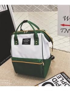 Рюкзак LIVING TRAVELING SHARE 008 бело-зеленый