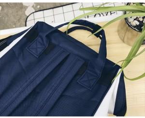Рюкзак LIVING TRAVELING SHARE 008 бело-синий спинка рюкзака