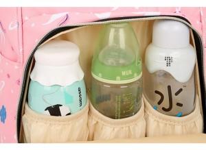 Рюкзак LIVING TRAVELING SHARE R053 кармашки для бутылочек крупным планом