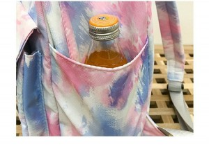 Рюкзак школьный Ming Hao MH696 Градиент боковой карман крупным планом