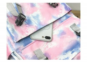 Рюкзак школьный Ming Hao MH696 Градиент карман на передней панели крупным планом