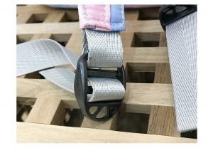 Рюкзак школьный Ming Hao MH696 Градиент ремень и фиксатор крупным планом